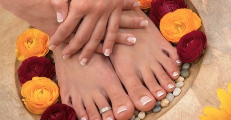 Classic Manicure and Pedicure