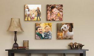 Custom Square Photo Canvas