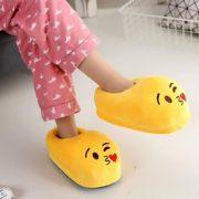 Emoji Plush Slippers