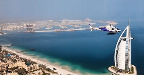 Helicopter Tour Across Dubai