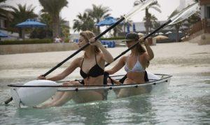 One-Hour Clear Kayak Rental