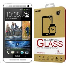 Rubik Real Tempered Glass Saphire HD Screen Protector For HTC One M7
