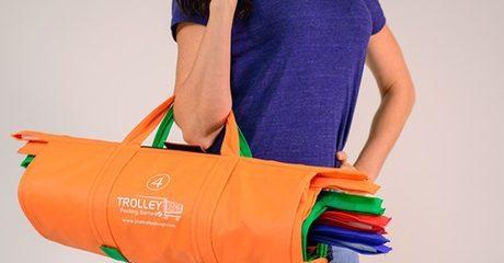 Trolley Reusable Shopping Bags