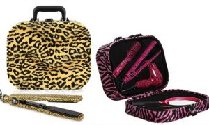 Curling Tong and Vanity Case