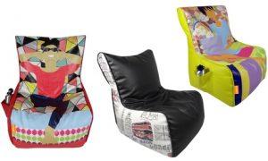Digital Bean Bag Chair