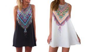 Hippie Style Tunic Dress