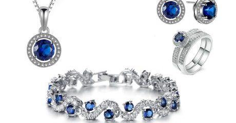 Lab-Created Sapphire Jewellery