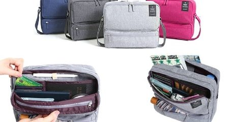 Multi-Compartment Travel Bag