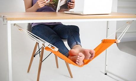 Under-Desk Feet Hammock