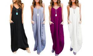 Women's Boho Maxi Dress