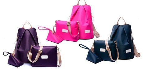 Women's Three-Piece Bag Set
