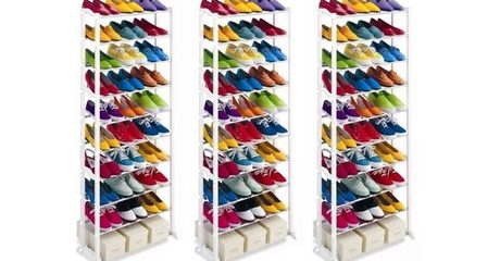 30-Pair Shoe Organiser
