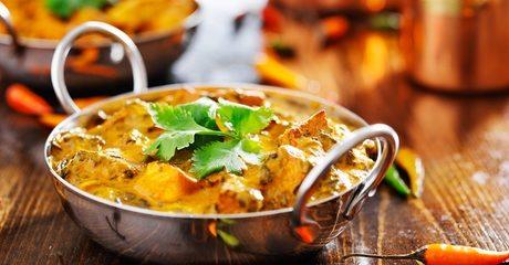 AED 60 Toward Indian Food