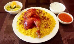Chicken Mandi for Two