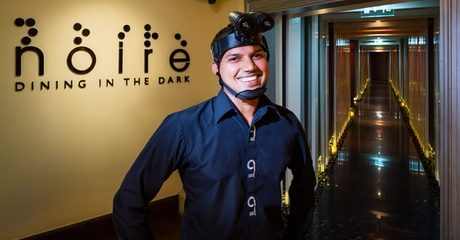 Dining in the Dark Experience