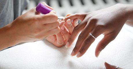 Natural Fingernail Gel Overlay