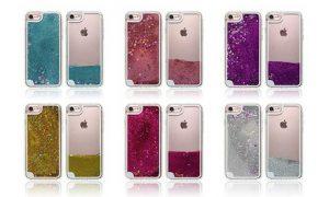 Quicksand Glitter Liquid Case