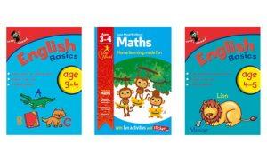 Set of Three Leap Ahead Workbooks
