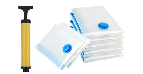 Seven-Pack of Compression Bags