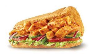 Six-Inch Subway Sandwich