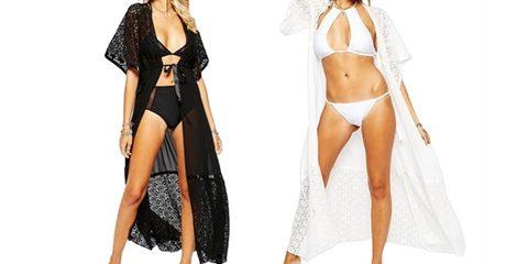 Women's Long Lace Kimono