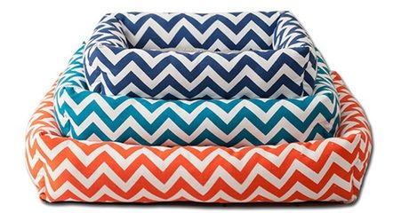 Chevron Pet Beds