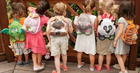 Children's 3D Animal Backpack