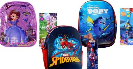 Children's Backpack and Watch Set