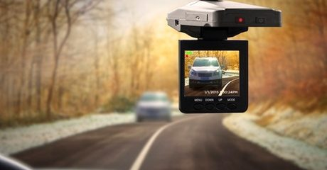 DVR Dash Cam with Night Vision