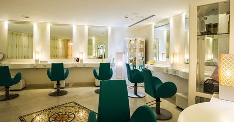 Manicure at POSH Lounge Salon