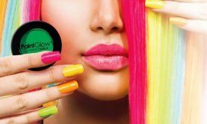 Neon UV Hair Streaks or Chalks