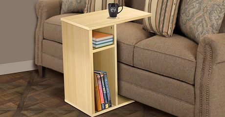 Sofa Table with Side Storage Slot