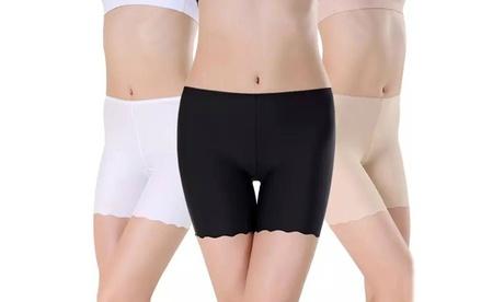 Women's Seamless Stretch Shorts 3Pk