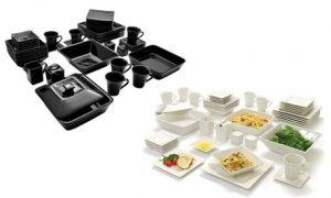 45-Piece Square Dinner Set