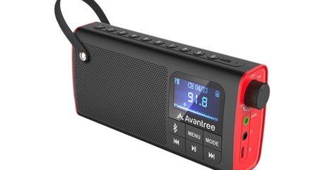 Avantree Portable FM Radio