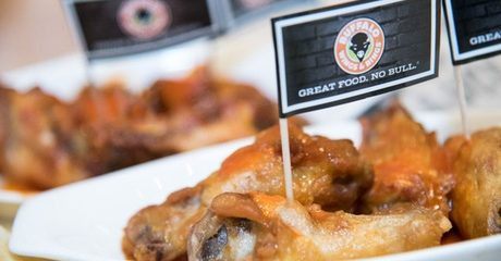 Buffalo Wings and Rings Meal Combo