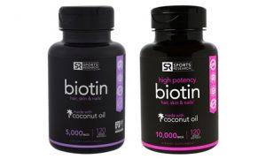 Healthy Hair and Nails Biotin