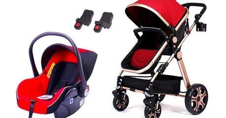Luxury Travel System with Stroller & Baby Car Seat