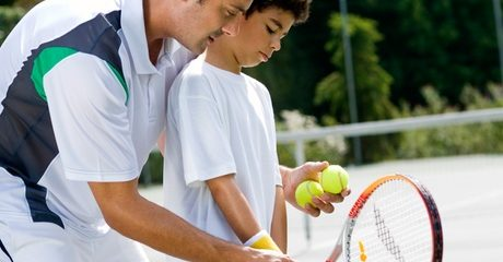Three Tennis Lessons: Child (AED 175) or Adult (AED 329)