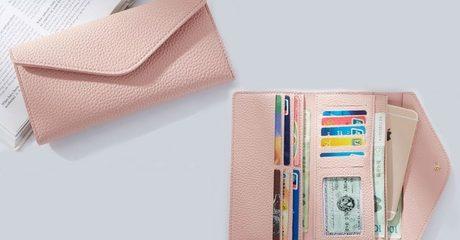 Women's Envelope-Style Wallet