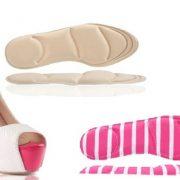 4D Memory Foam Shoe Insoles