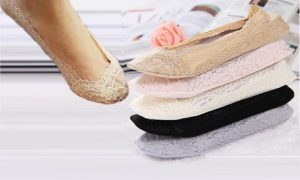 5 or 10 Pairs of Lace Shoe Liners