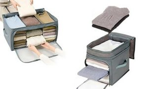 Bamboo Charcoal Clothes Organiser