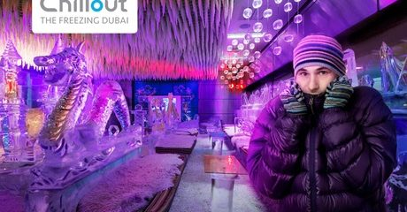 Chillout Ice Lounge Entry: Child (AED 30) or Adult (AED 55)