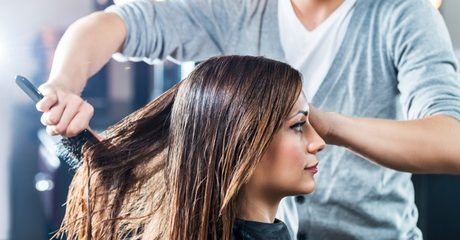 Customers can give their locks a makeover with a cut and restyle