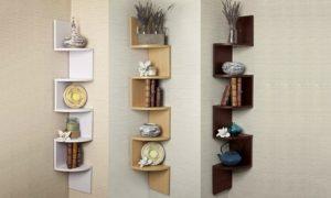 Five-Tier Space-Saving Shelf Unit
