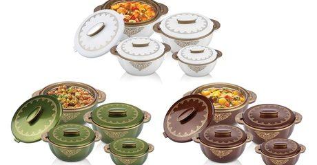 Four-Piece Solitaire Hot Pot Set