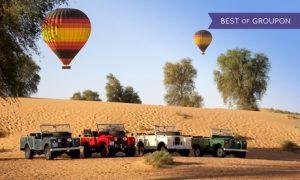 Hot Air Balloon Ride: Child (AED 805)