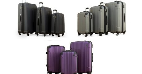 Pacific Link Trolley Luggage Set