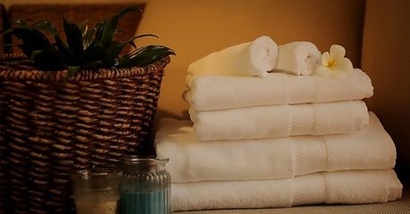 Set of Six Egyptian Cotton Towels